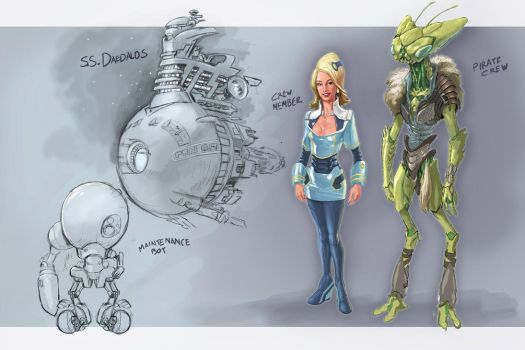 Concept bits by manmonkee