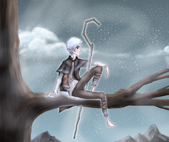 Frost in a Tree by LivingAliveCreator
