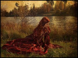 Lady of Shalott by forgotten-tale