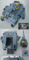 Space Wolves Predator Tank2 by Arastoru