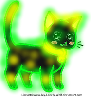 Glowing Cat Adopt (Name Your Price!) (CLOSED) by Firestar999