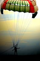 Parasailing by loloniie