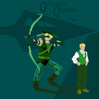 Oliver Queen Secret Identity by greenwinters