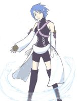 Aqua KH birth by sleep by kairiART