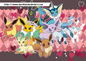 Eevee Poster by Crystal-Ribbon
