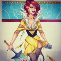 Red from Transistor by Dangerous-Beauty778