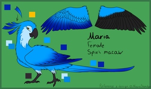 Maria reference by NairaSanches