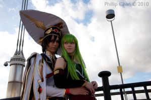 LeLouch and C.C by AkraruPhotography