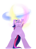 Twilight's Spirit Bomb by Lucky-Jacky