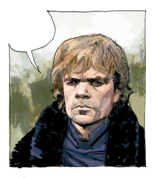 Tyrion Lannister by ghwalta