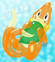 Balloon and Balloonie Buizel by Wingfox