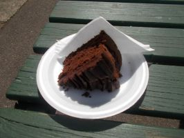 Slice of Chocolate Cake by FFDP-Neko