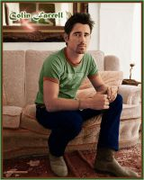 Colin Farrell Colorize by Owlnuny