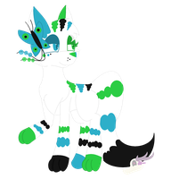 ~Ay Ay Ay Your My Little Butterfly~ -ART TRADE- by RottenWendigo