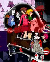 Yume Nikki Collage by BrittishBitch-86