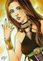 ACEO Megan Fox by ChristAll