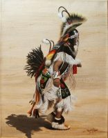 Indian Dancer by KMAP3156