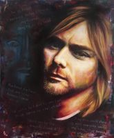 Kurt Cobain by Pat-Purcell
