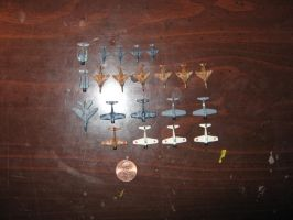 1/220 Scale Planes 2 [Size] by Coffeebean2