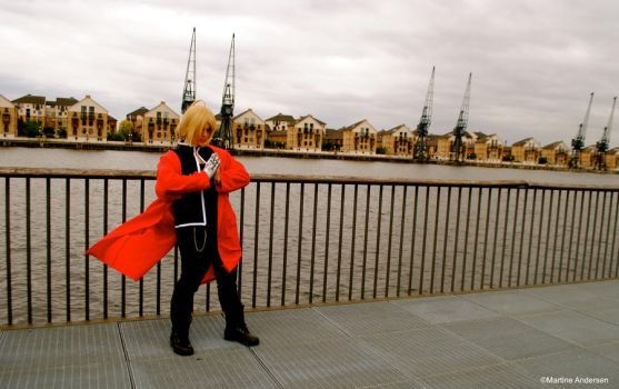 Edward Elric by Vomle