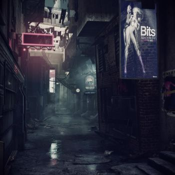 Gritty City by 4dimensional