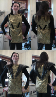 Riff-Raff Spacesuit Costume Progress Part 2 by spektijim