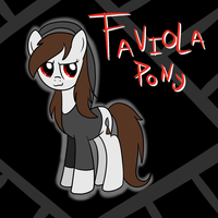 Faviolalol pony by TheShadowArtist100
