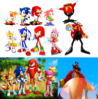 Sonic and his Friends (Sonic Boom 2014) by 9029561