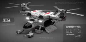Enforcer T143 (Helicopter) by boningerworks