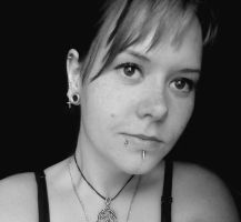 me 22/05/13_03 bw by BeastClementine