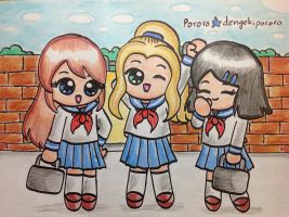 DAF: Going to school by dengekipororo