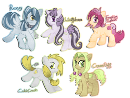 Pony adopts - closed by why-so-cirrus