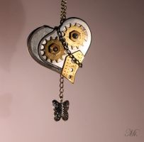 Steampunk heart 34 by TheCraftsman