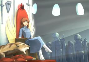 Another Nausicaa by koori101