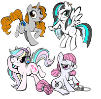 Four More by BlackRoseBandKitsune