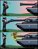 V for blowing up tanks by ShadowCrawler