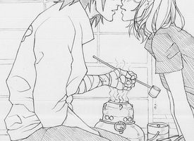 SxS lineart teaser by nami64