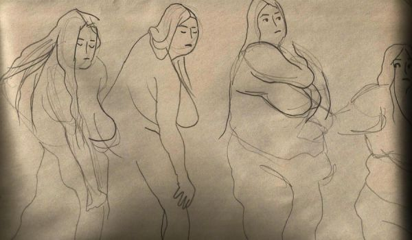 Life Drawing 9 by Souhaits