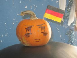 APH-Germany Pumpkin Face! by MaximWolf