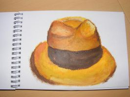 Acrylics : My Hat by rev-Jesse-C
