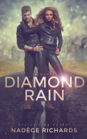 Diamond Rain - book cover art by Morteque