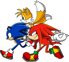 team sonic by xDsupersonic4ever