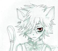 Pandora Hearts: Cheshire Cat by daim0z