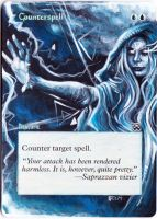 Magic Card Alteration: Counterspell 4-29 by Ondal-the-Fool