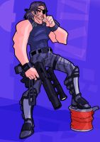 Snake Plissken by The-Satsui