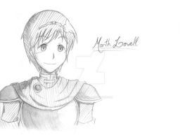 Another drawing of Marth by TsukiAnimeGirl
