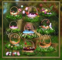 Easter Magic png by moonchild-lj-stock