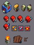 UndeadRUN Characters and Items by El-Andyjack