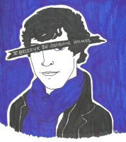 I Believe in Sherlock Holmes by TheSimpsonsFanGirl