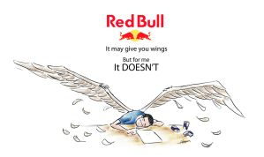 Red Bull MAY give you wings by hazamzam